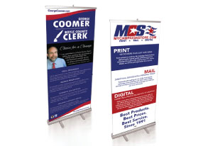 Retractable Display Banner