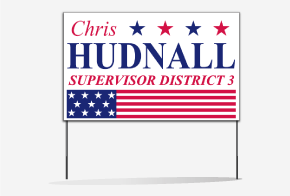 Poly Bag Yard Signs